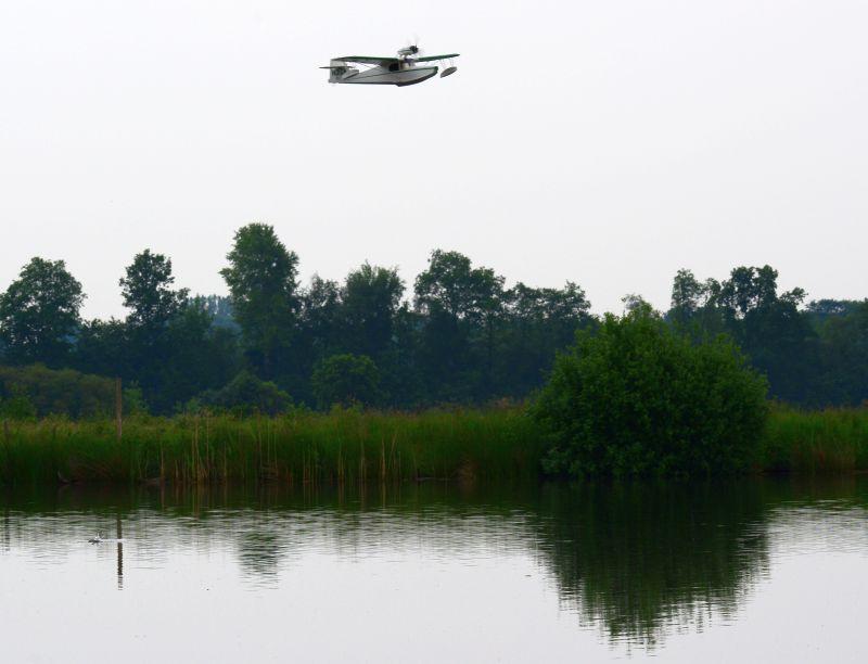 MIL 1402 Model Wasserflugzeuge Auf Dem Haidhofsee