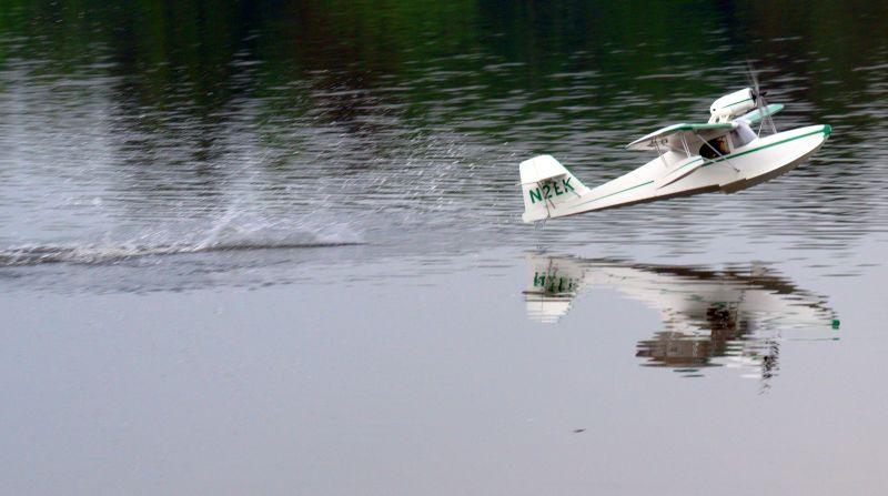 MIL 1403 Model Wasserflugzeuge Auf Dem Haidhofsee