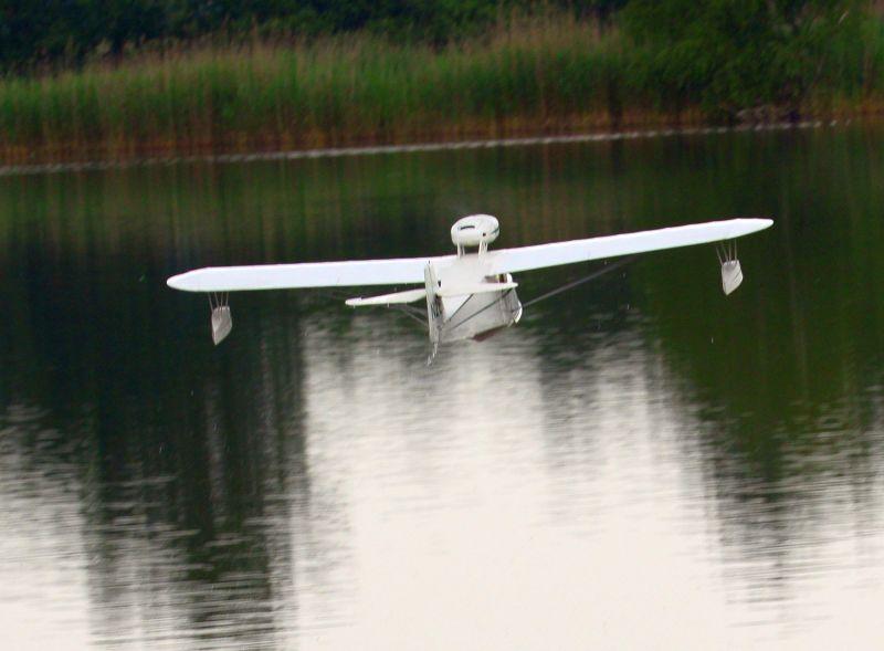 MIL 1404 Model Wasserflugzeuge Auf Dem Haidhofsee