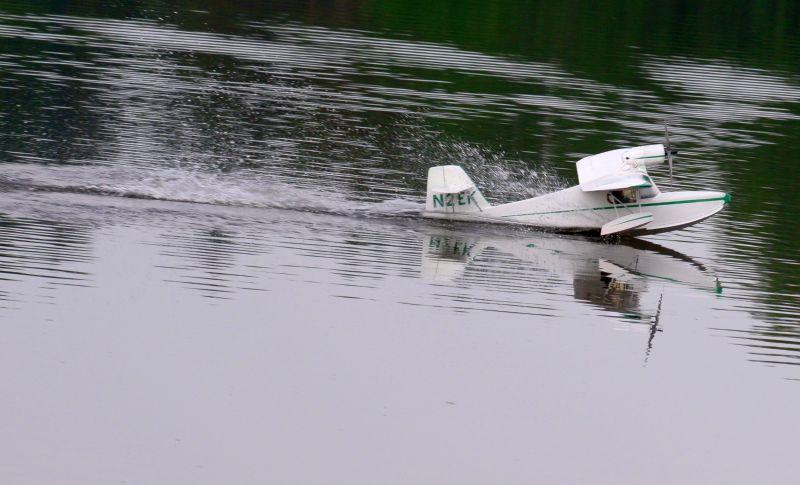 MIL 1413 Model Wasserflugzeuge Auf Dem Haidhofsee