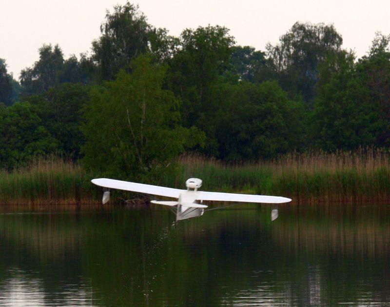 MIL 1417 Model Wasserflugzeuge Auf Dem Haidhofsee