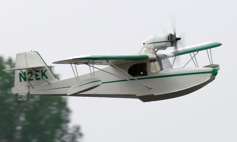 MIL 1422 Model Wasserflugzeuge Auf Dem Haidhofsee