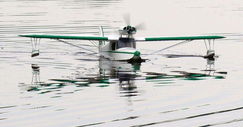 MIL 1429 Model Wasserflugzeuge Auf Dem Haidhofsee