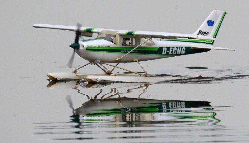 MIL 1434 Model Wasserflugzeuge Auf Dem Haidhofsee