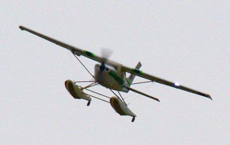 MIL 1439 Model Wasserflugzeuge Auf Dem Haidhofsee
