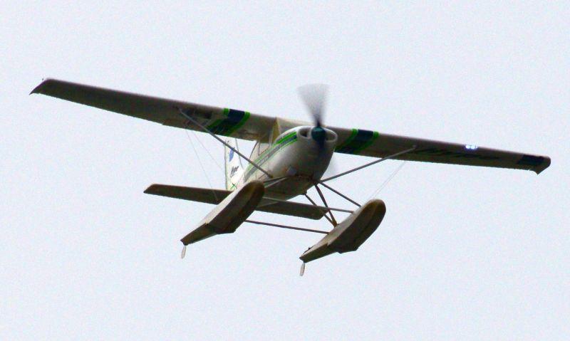 MIL 1440 Model Wasserflugzeuge Auf Dem Haidhofsee