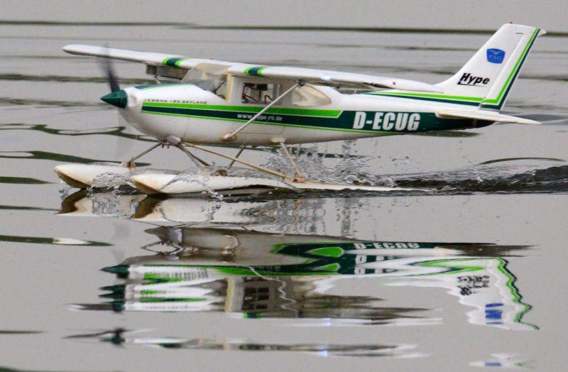 MIL 1446 Model Wasserflugzeuge Auf Dem Haidhofsee