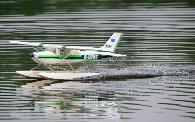 MIL 1448 Model Wasserflugzeuge Auf Dem Haidhofsee