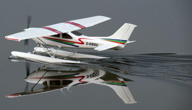 MIL 1449 Model Wasserflugzeuge Auf Dem Haidhofsee
