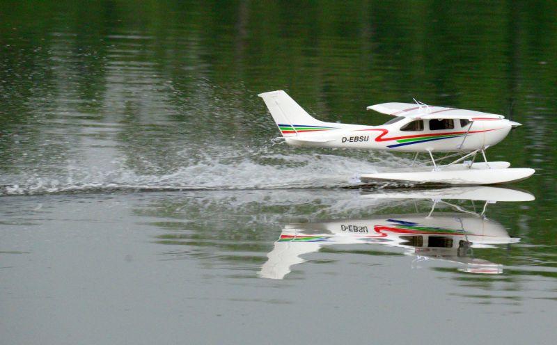 MIL 1455 Model Wasserflugzeuge Auf Dem Haidhofsee