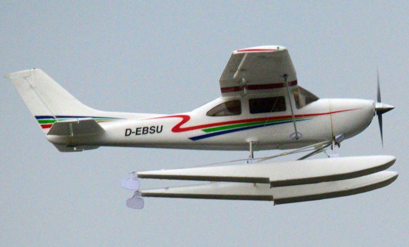 MIL 1479 Model Wasserflugzeuge Auf Dem Haidhofsee