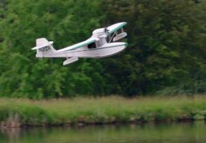 MIL 1410 Model Wasserflugzeuge Auf Dem Haidhofsee