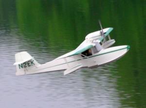 MIL 1411 Model Wasserflugzeuge Auf Dem Haidhofsee