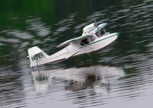 MIL 1412 Model Wasserflugzeuge Auf Dem Haidhofsee