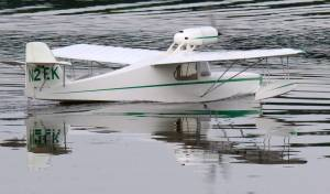 MIL 1415 Model Wasserflugzeuge Auf Dem Haidhofsee