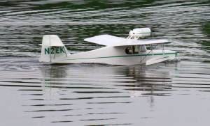 MIL 1416 Model Wasserflugzeuge Auf Dem Haidhofsee