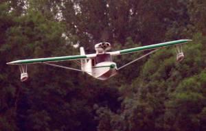 MIL 1427 Model Wasserflugzeuge Auf Dem Haidhofsee