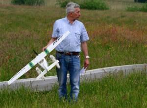 MIL 1431 Model Wasserflugzeuge Auf Dem Haidhofsee