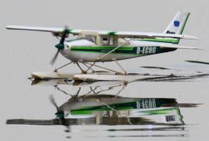 MIL 1433 Model Wasserflugzeuge Auf Dem Haidhofsee