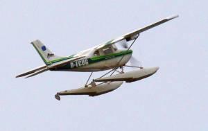 MIL 1435 Model Wasserflugzeuge Auf Dem Haidhofsee