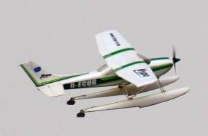 MIL 1438 Model Wasserflugzeuge Auf Dem Haidhofsee