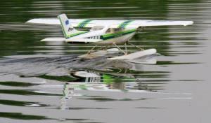 MIL 1444 Model Wasserflugzeuge Auf Dem Haidhofsee
