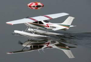 MIL 1450 Model Wasserflugzeuge Auf Dem Haidhofsee