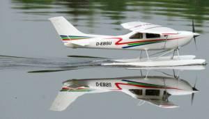 MIL 1452 Model Wasserflugzeuge Auf Dem Haidhofsee