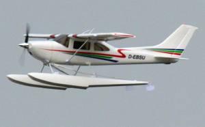 MIL 1459 Model Wasserflugzeuge Auf Dem Haidhofsee