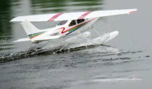 MIL 1470 Model Wasserflugzeuge Auf Dem Haidhofsee