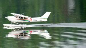 MIL 1471 Model Wasserflugzeuge Auf Dem Haidhofsee
