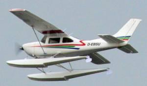 MIL 1475 Model Wasserflugzeuge Auf Dem Haidhofsee
