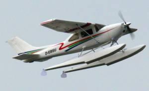 MIL 1478 Model Wasserflugzeuge Auf Dem Haidhofsee