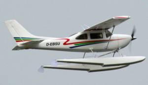 MIL 1480 Model Wasserflugzeuge Auf Dem Haidhofsee