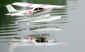 MIL 1485 Model Wasserflugzeuge Auf Dem Haidhofsee