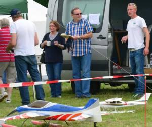 MIL 1491 Model Wasserflugzeuge Auf Dem Haidhofsee